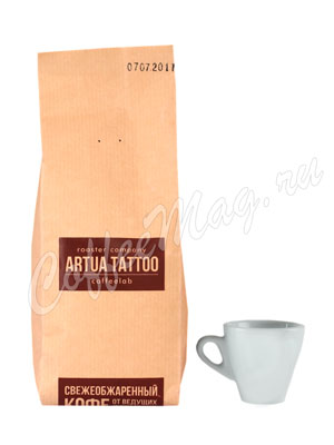 Кофе Artua Tattoo Coffeelab Смесь Марагоджип в зернах 250 гр