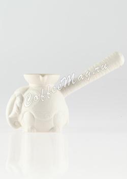 Турка (Джезва) Слон. Белая Керамика 150 мл