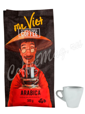 Кофе Mr Viet в зернах Арабика 500 г