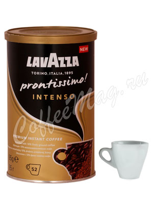 Кофе Lavazza растворимый Prontissimo Intenso 95 гр