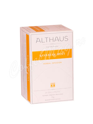Чай Althaus Bavarian Mint/ Баварская Мята для чашки 20х1,75 гр