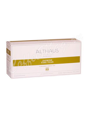 Чай Althaus Jasmin Ting Yua Жасмин Тинг Юань 20 пак. для чайника