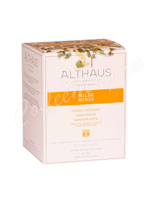 Чай Althaus Milde Minze Нежная Мята в пирамидках