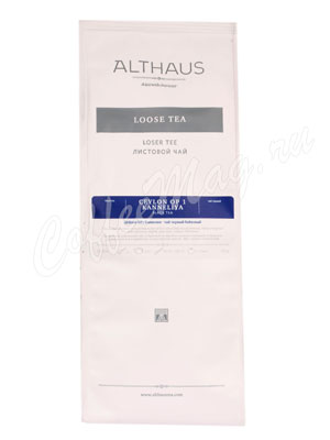 Чай Althaus лист Ceylon OP1 Kanneliya Цейлон ОР1 Каннелия 250 г