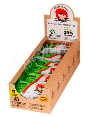 Конфеты Healthy Ball Протеин мак-ваниль
