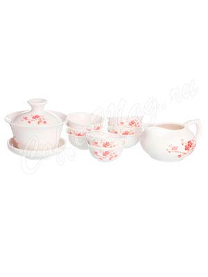 Чайный сервиз 10 предметов Фарфор