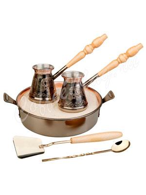Набор для приготовления кофе на песке Тет-а-Тет КО-26003 (Пятигорск)