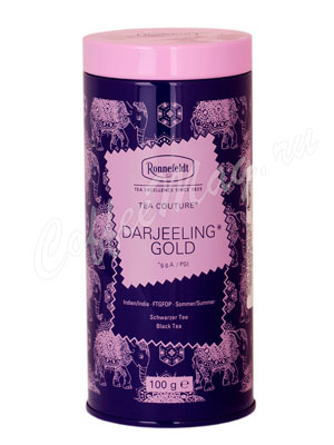 Чай Ronnefeldt Tea Couture Darjeeling Gold/ Дарджилинг Голд 100 гр