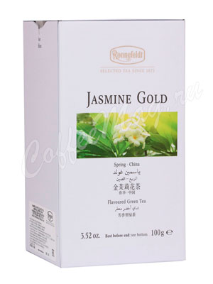 Чай Ronnefeldt Jasmine Gold/Золотой жасмин 100 гр м/б