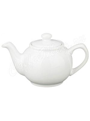 Заварочный Чайник Agness 400 мл белый (470-045)