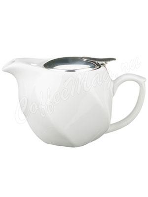 Заварочный Чайник Agness 500 мл белый (470-182)