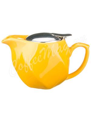 Заварочный Чайник Agness 500 мл желтый (470-181)