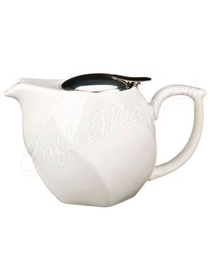 Заварочный Чайник Agness 750 мл белый (470-188)