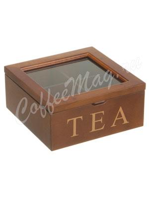 Шкатулка для хранения чая 18-18-9 см (255-022)