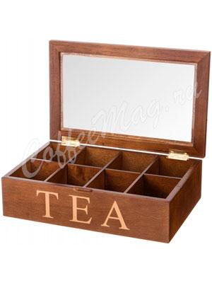 Шкатулка для хранения чая 24-18-10 см (255-022)