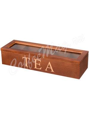 Шкатулка для хранения чая 28-18-8 см (255-043)