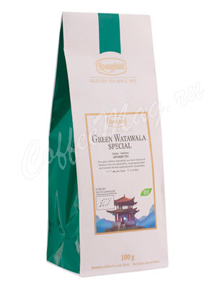 Чай Ronnefeldt Bio Green Watawala Special/ Грин Ватавала Спешиал 100 гр