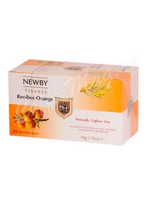 Чай пакетированный Newby Ройбуш и апельсин 25 шт