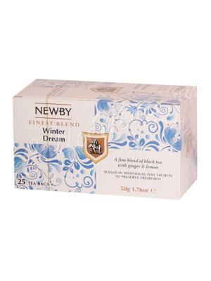 Чай пакетированный Newby Зимняя мечта 25 шт