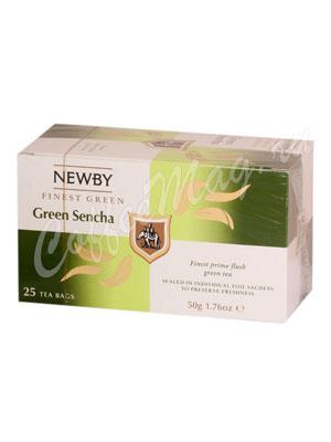 Чай пакетированный Newby Зеленый сенча 25 шт