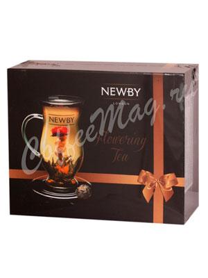 Подарочный набор Newby распускающегося чая с чашкой