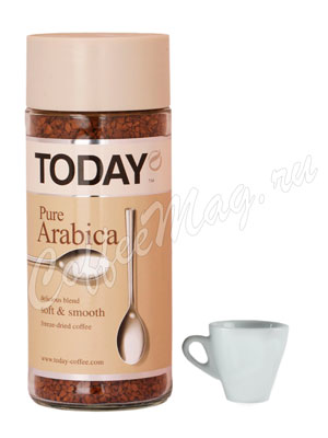 Кофе Today растворимый Pure Arabica 95 гр (ст.б.)