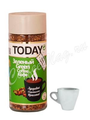 Кофе Today растворимый Green 95 гр (ст.б.)