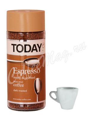 Кофе Today (Тудей) растворимый Espresso 95 г