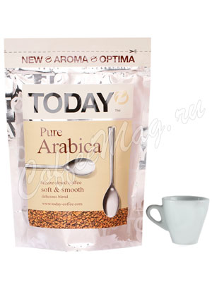 Кофе Today растворимый Pure Arabica 150 г