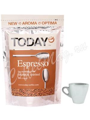 Кофе Today (Тудей) растворимый Espresso 150 г