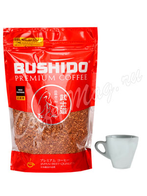 Кофе Bushido растворимый Red Katana 75 гр (пакет)