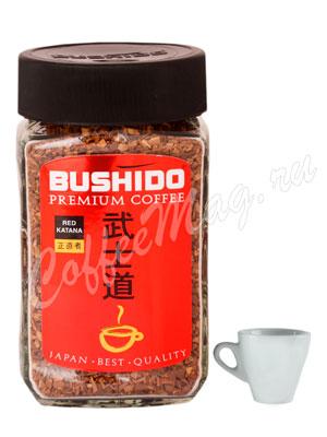 Кофе Bushido растворимый Red Katana 100 г