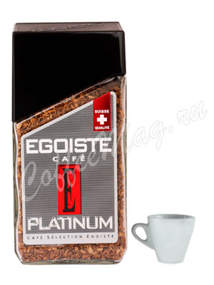 Кофе Egoiste растворимый Platinum 100 гр (ст.б.)