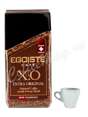 Кофе Egoiste растворимый Extra Original X.O In-Fi 100 гр (ст.б.)
