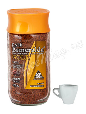 Кофе Cafe Esmeralda Gold растворимый 100 г