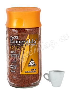 Кофе Cafe Esmeralda Gold растворимый 100гр