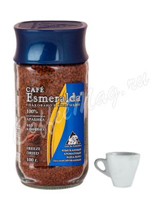 Кофе Cafe Esmeralda растворимый без кофеина 100 гр