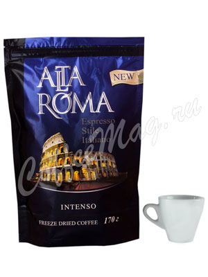 Кофе Alta Roma Intenso растворимый 170 гр пакет