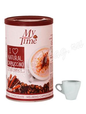 Кофе My Time Soul Energy Капучино с натуральным кофе и какао 200 гр ж.б.