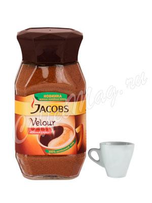 Кофе Jacobs растворимый Velour 95 гр ст.б