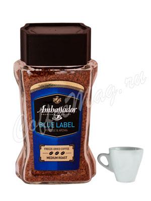 Кофе Ambassador Растворимый Blue Label 95 гр (ст.б.)