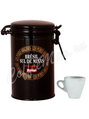 Кофе Malongo молотый Бразилия Сул Де Минас 250 гр (ж.б.)