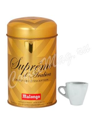 Кофе Malongo молотый Супремо Арабика 250 г