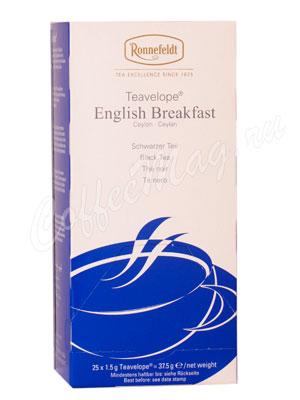 Чай Ronnefeldt English Breakfast / Английский завтрак в пакетиках 25 шт.х 1,5 гр