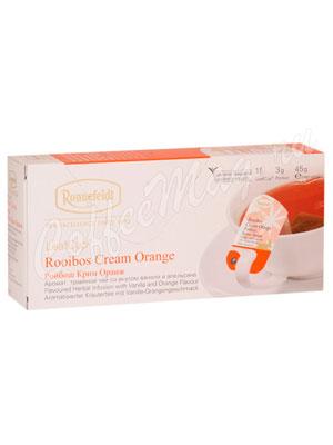 Чай Ronnefeldt Rooibus Cream Orange / Ройбуш Крем Оранж 15 саше на чашку (Leaf Cup)