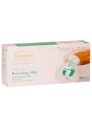 Чай Ronnefeldt Refreshing Mint/Освежающая Мята саше на чашку 15х1,2г (Leaf Cup)