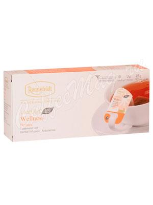 Чай Ronnefeldt Wellness / Велнес саше на чашку 15х3г (Leaf Cup)