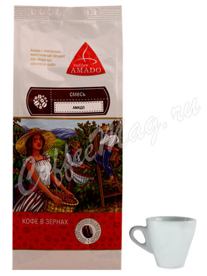 Кофе Amado в зернах Арабика 200 гр