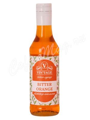Сироп Vintage Bitter Апельсин 250 мл