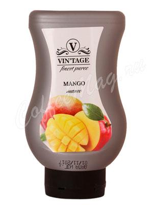 Фруктовое пюре Vintage Манго 650 гр